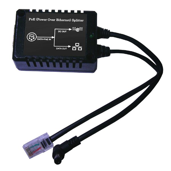 12W 802.3af Standard PoE Active Splitter with Isolation and Short Circuit Protection