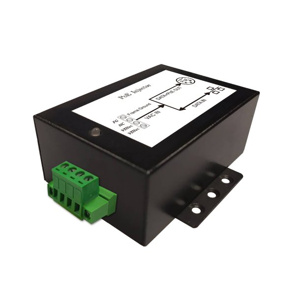 DC/DC PoE Injector with 9 to 36V DC Input Voltage and 0.35A Maximum Load
